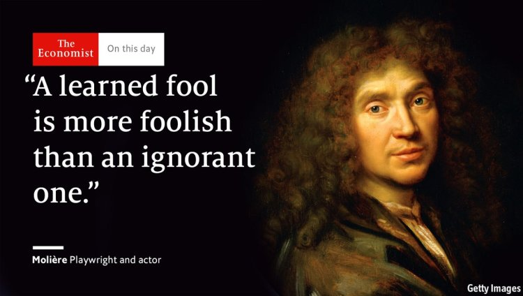 Economist Twitter Card Moliere Quote
