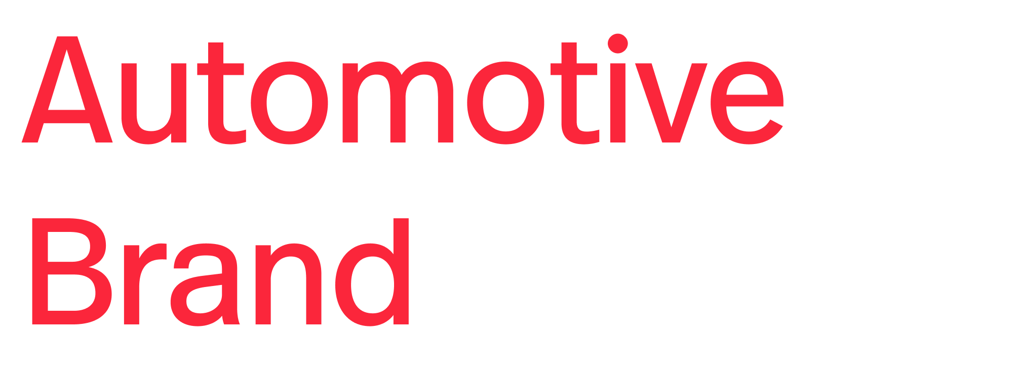 Automotive Brand Logo