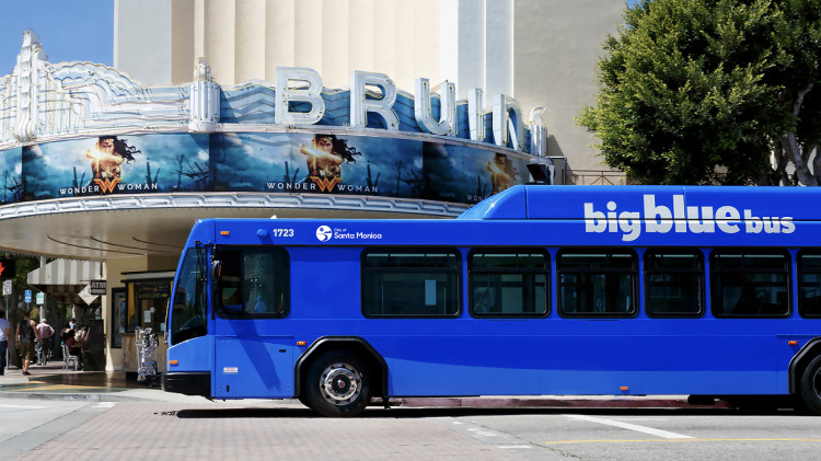 Big Blue Bus