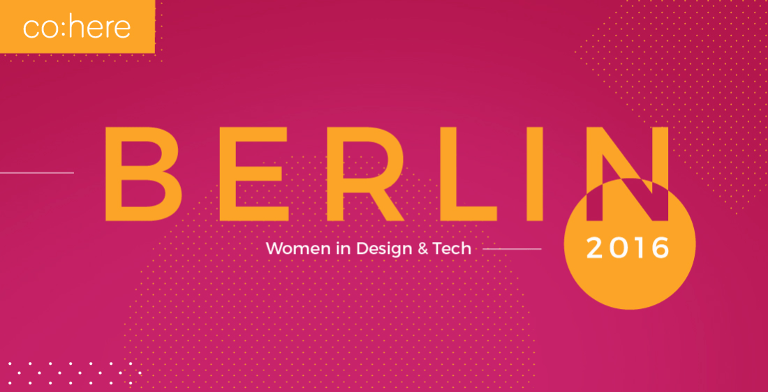 Berlin Women in Tech and Design Event