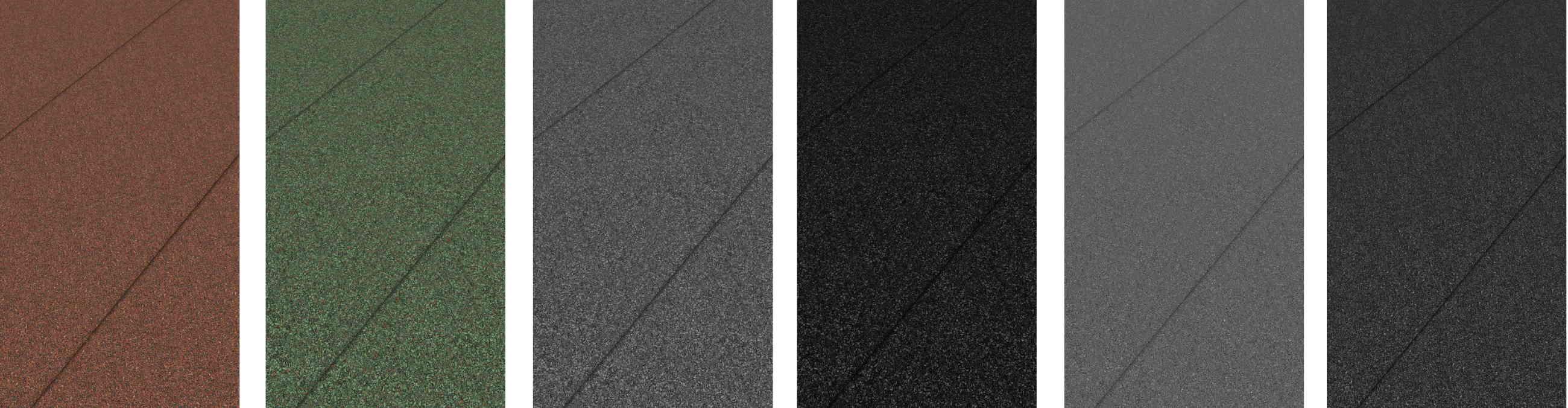 IMG - TopSafe Uni LiimaUltra tiivissaumakate värimallit samassa kuvassa rinnakkain - 2600px / 676px