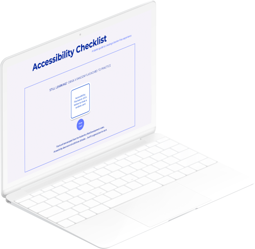 Accessibility Checklist Project