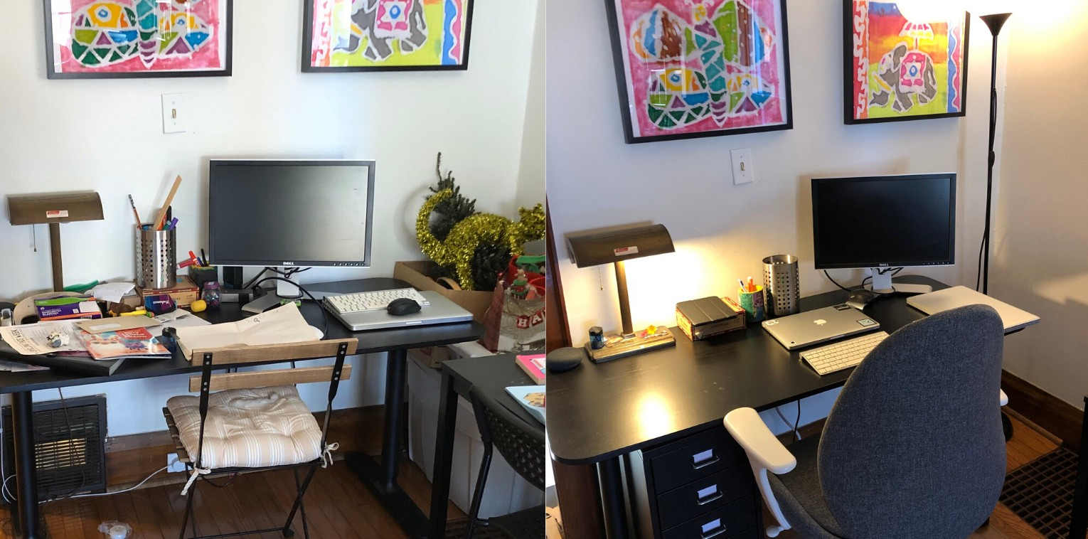 Brent's work from home office setup