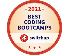 In 2021, Juno College of Technology was ranked on Switchup's List of Best Coding Bootcamps for the third year in a row.