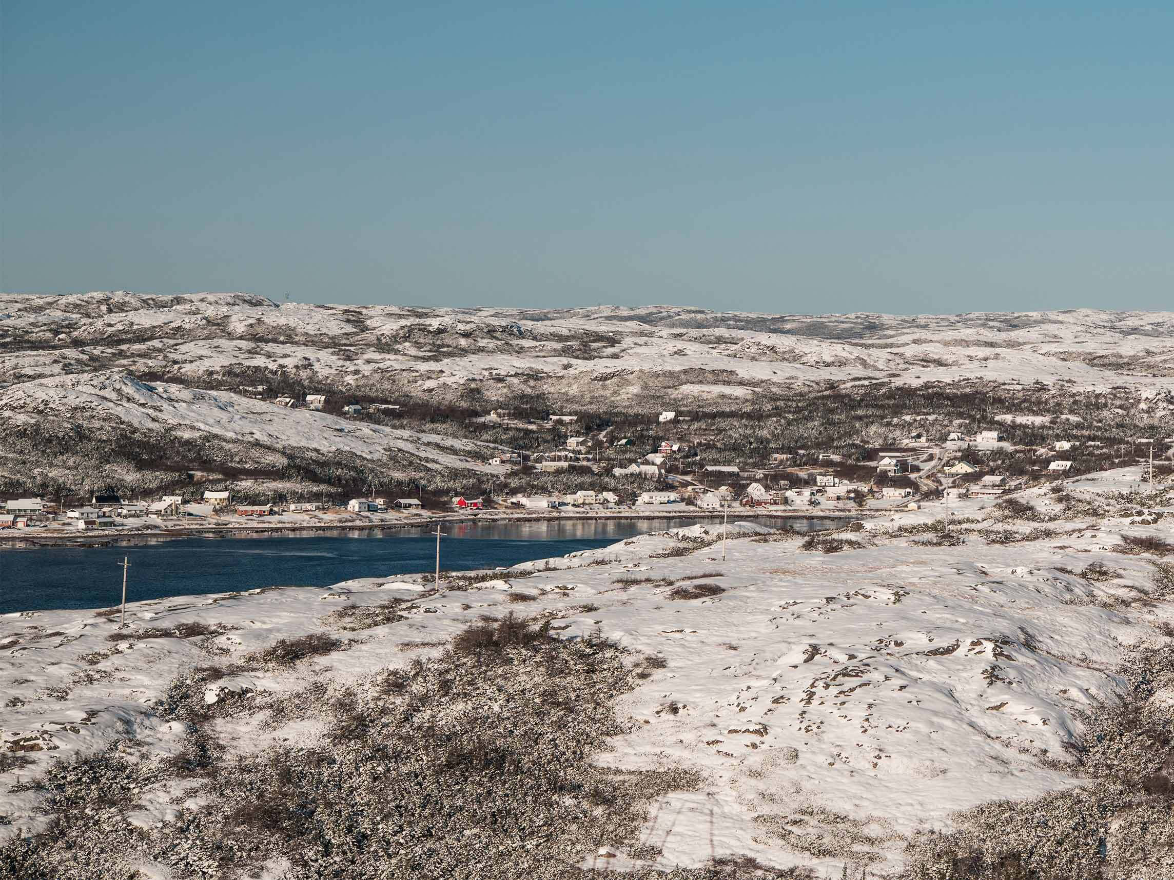 The remote Quebec community of Bonne Esperance
