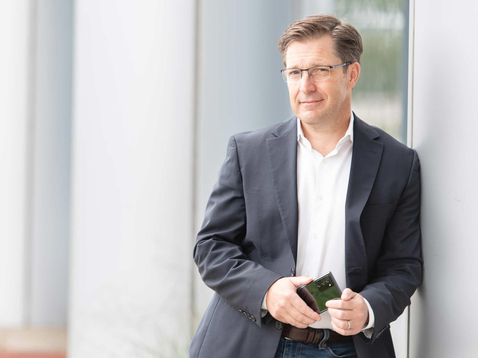 Stephen Wiktorski, head of networks for Samsung Canada