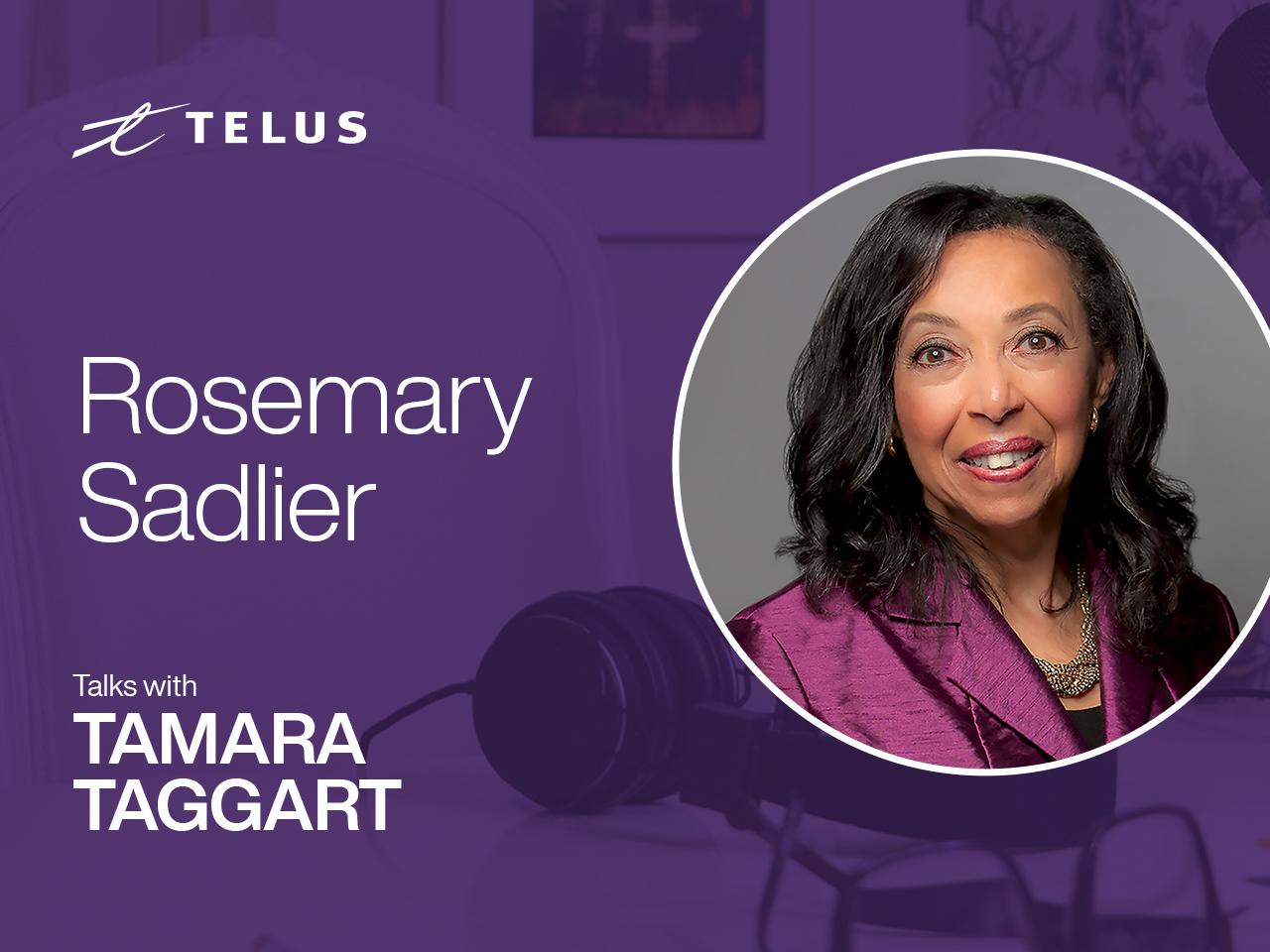 Author, educator and past president of the Ontario Black History Society, Rosemary Sadlier