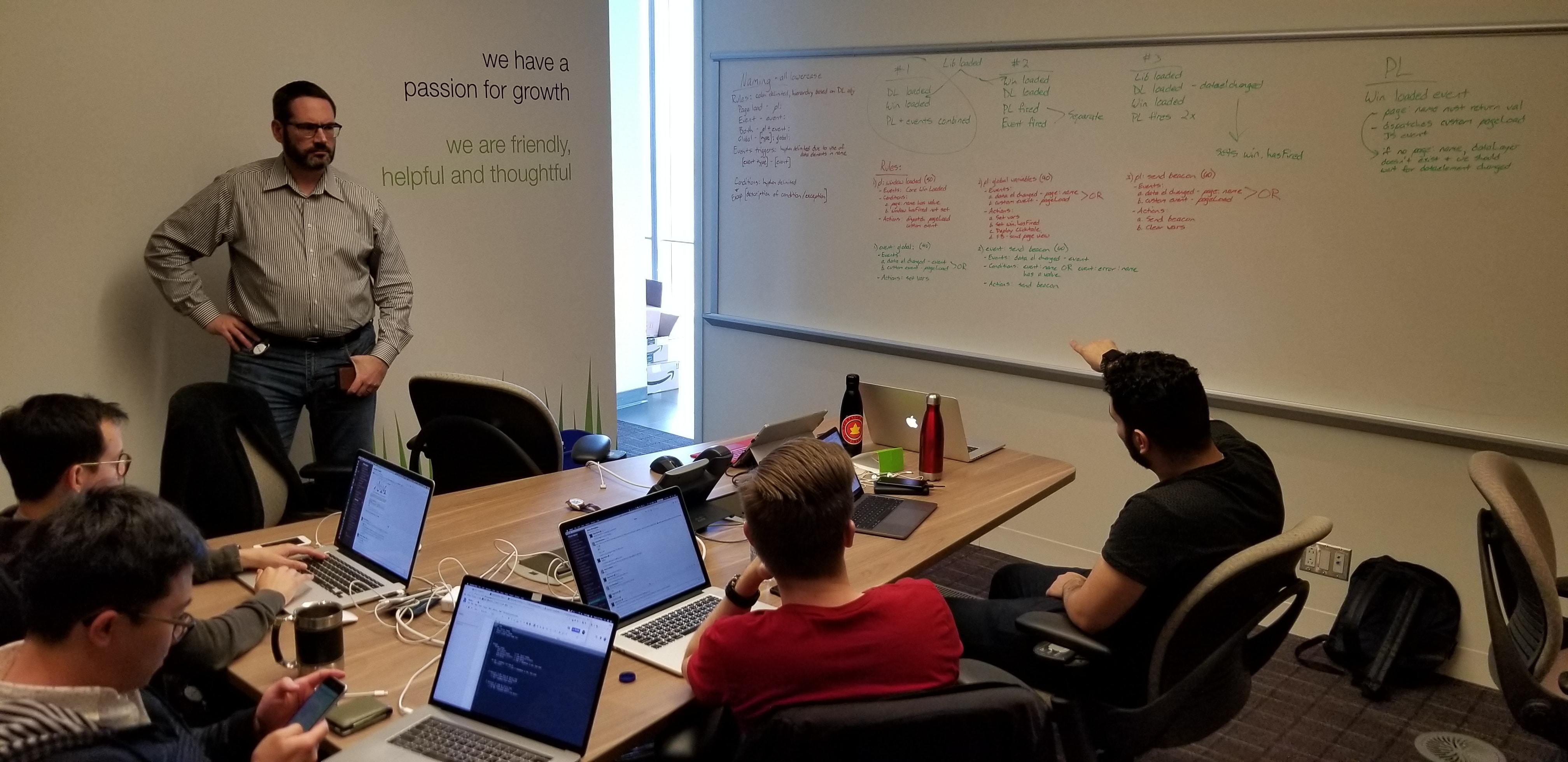 Snapshot data platform team