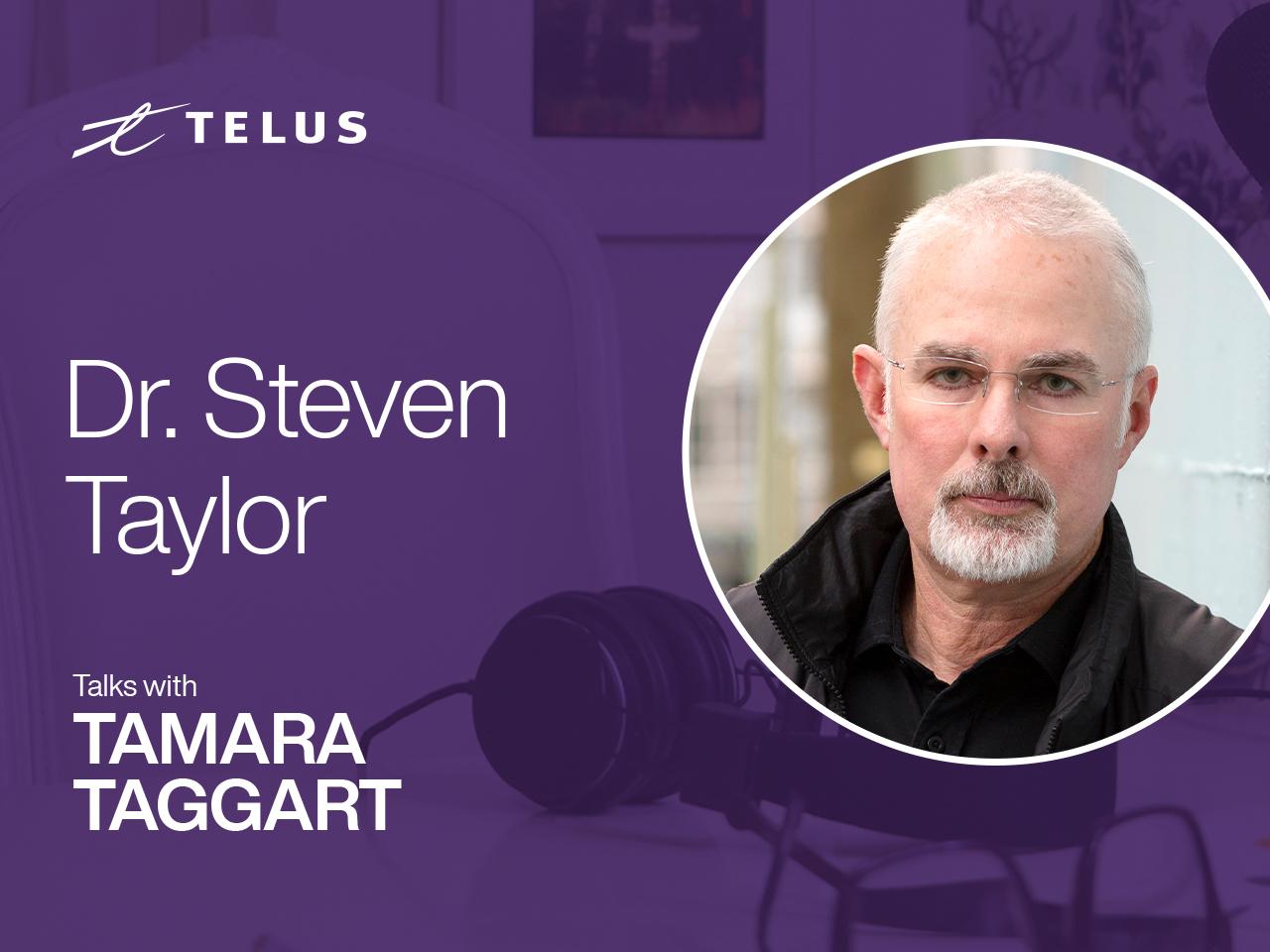 Psychologist and author Dr. Steven Taylor