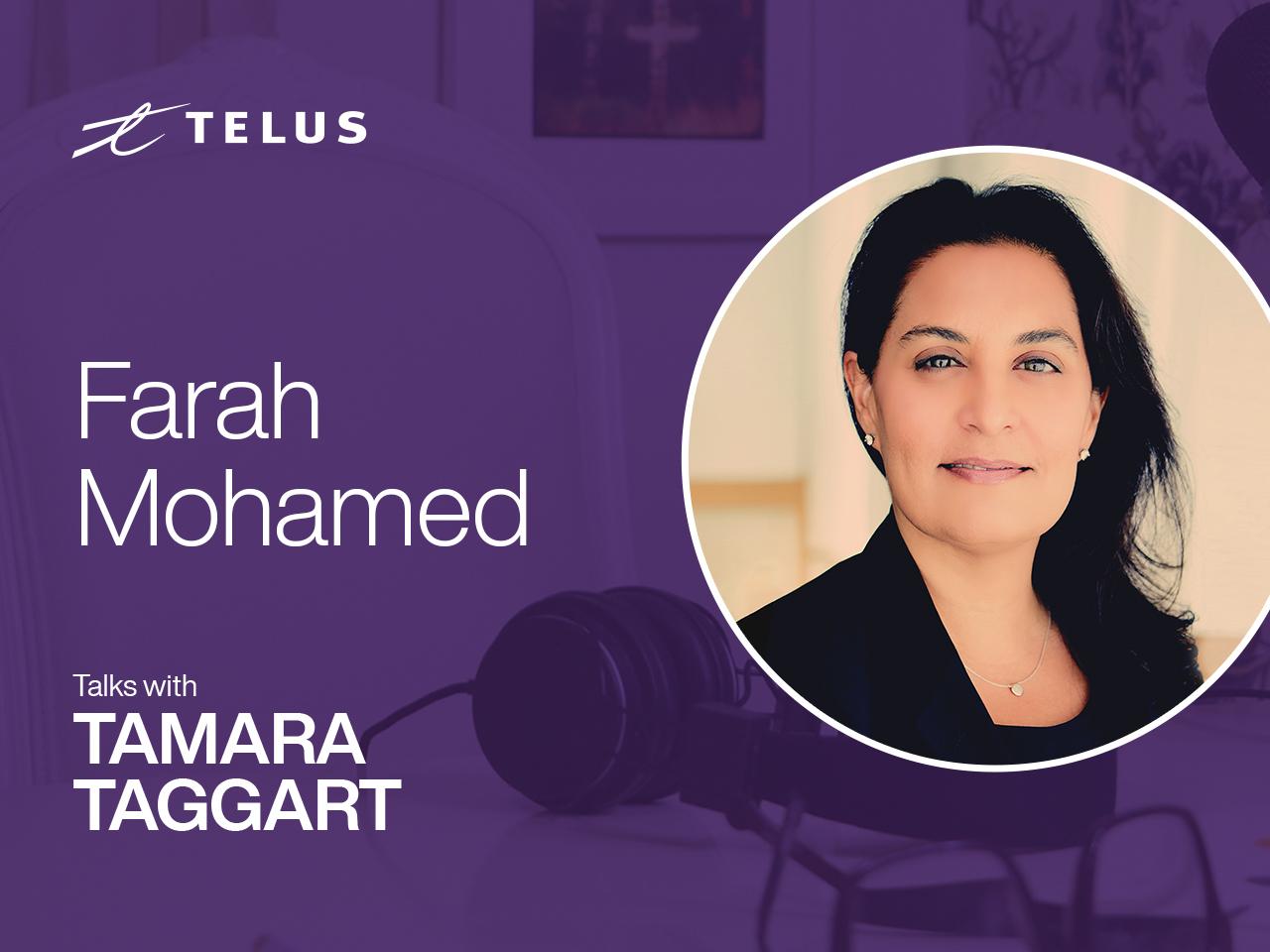 Founder of G(irls)20 Farah Mohamed.