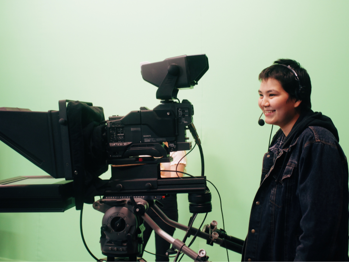 Youth operation TV camera