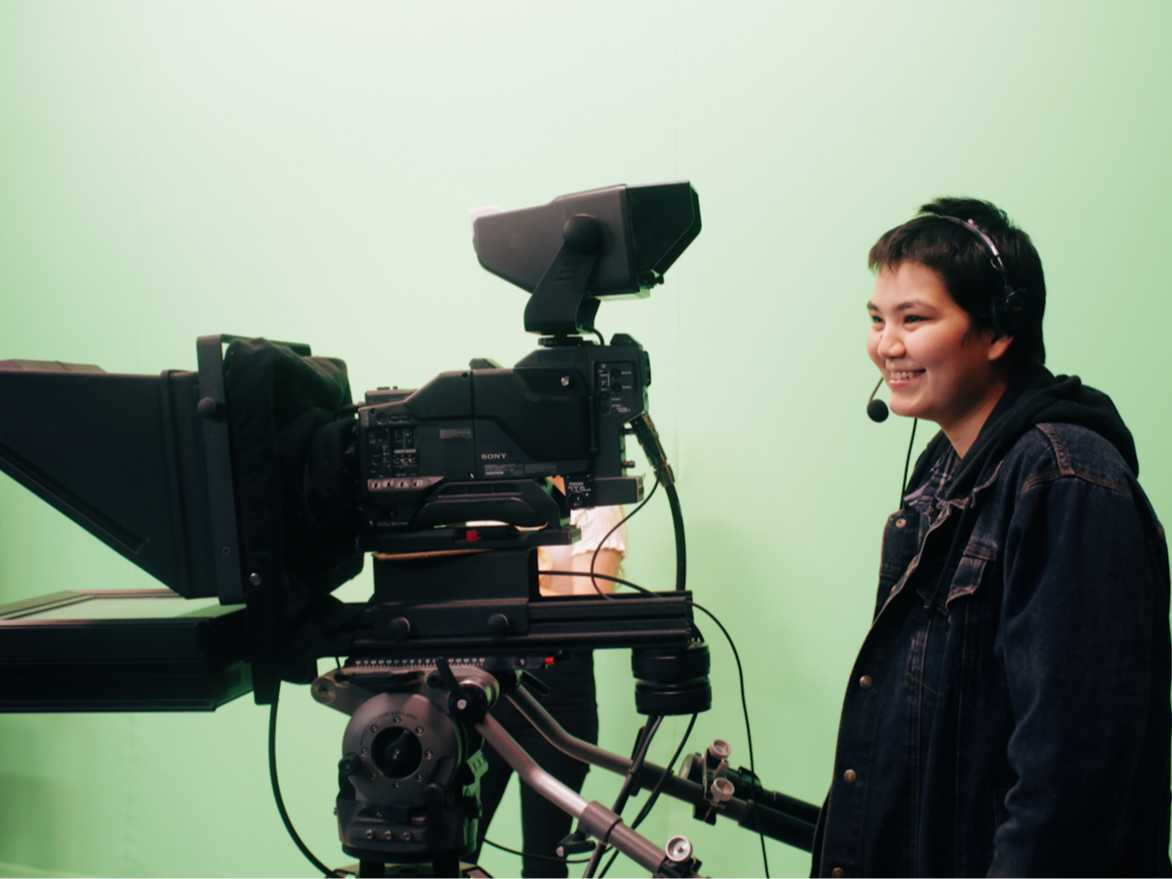 Youth operation TV camera