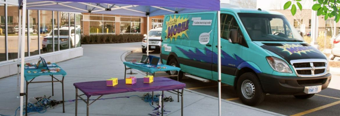 A picture of mobile WiFi stations provided by TELUS.
