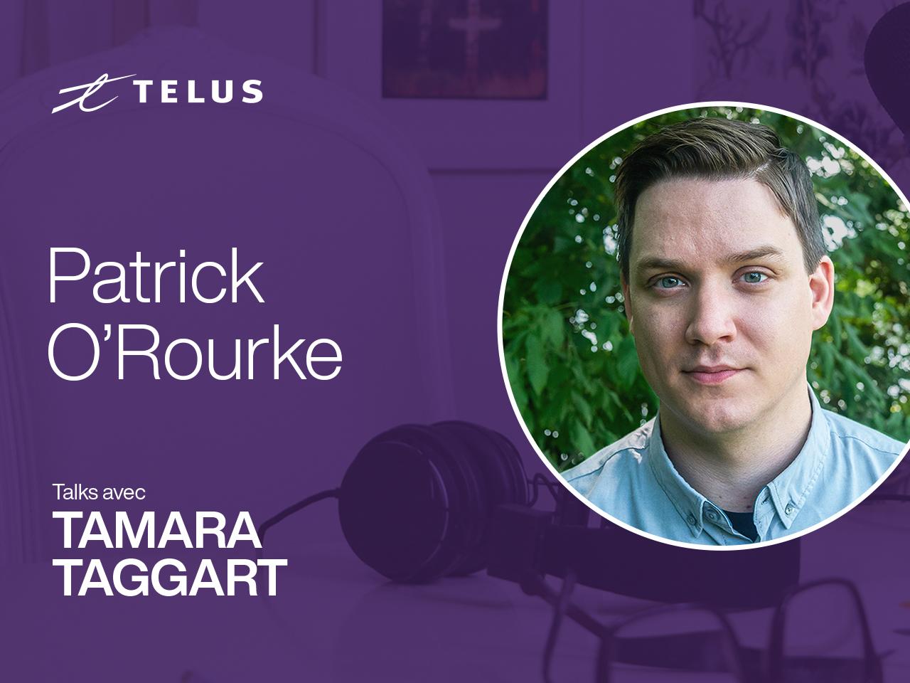Patrick O'Rourke, Managing Editor of MobileSyrup