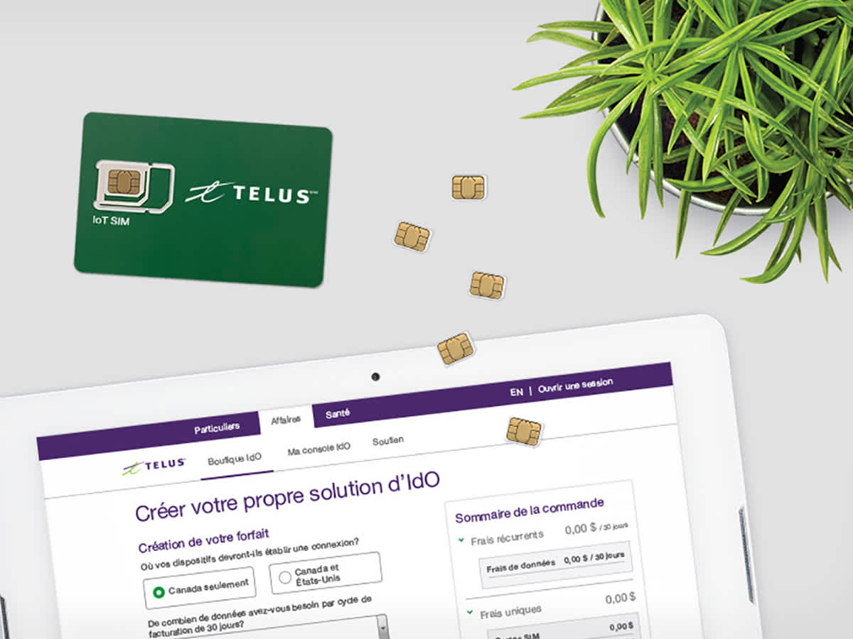 La Boutique IdO de TELUS est maintenant accessible