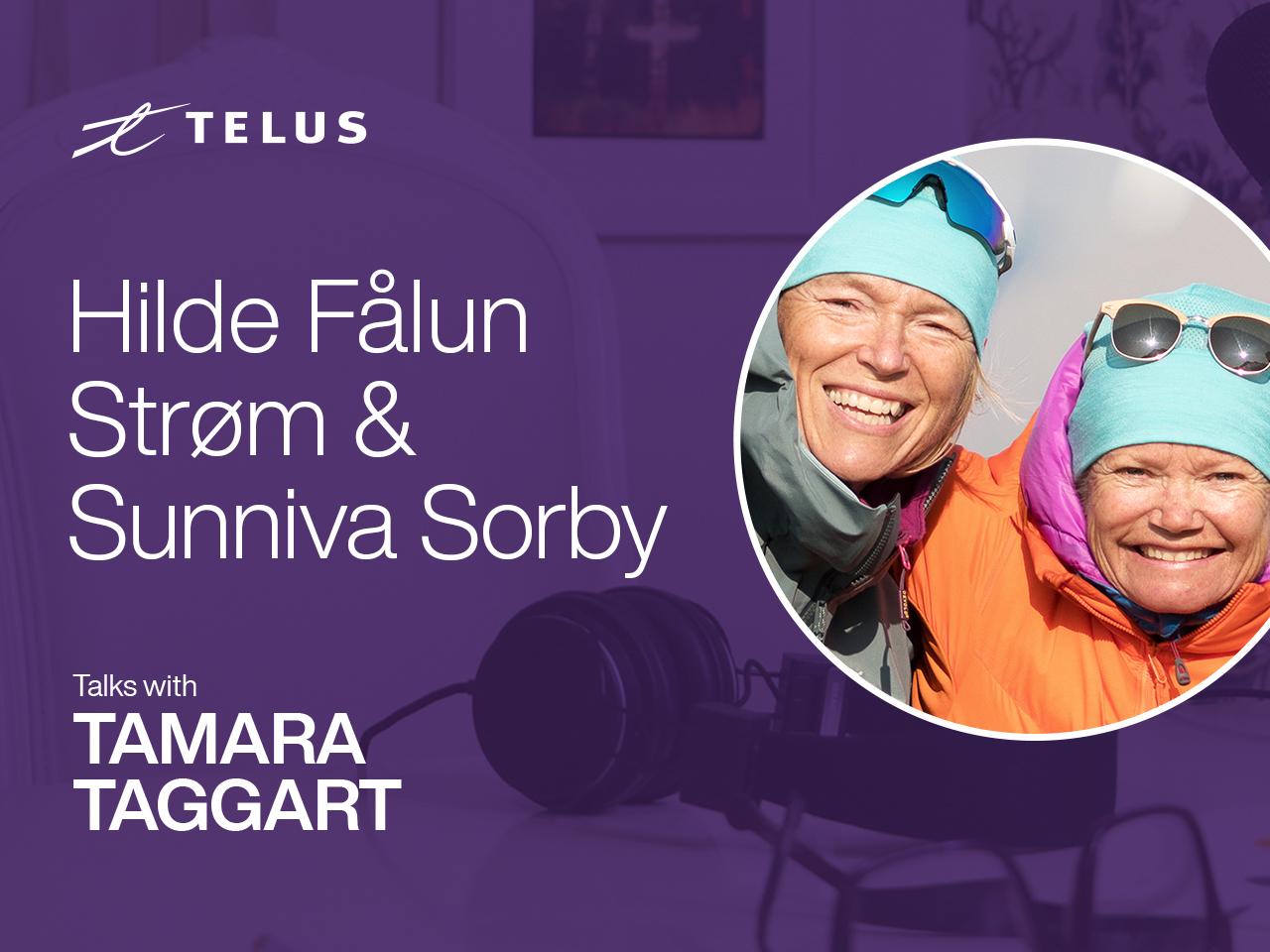 Environmental activists Hilde Fålun Strøm and Sunniva Sorby