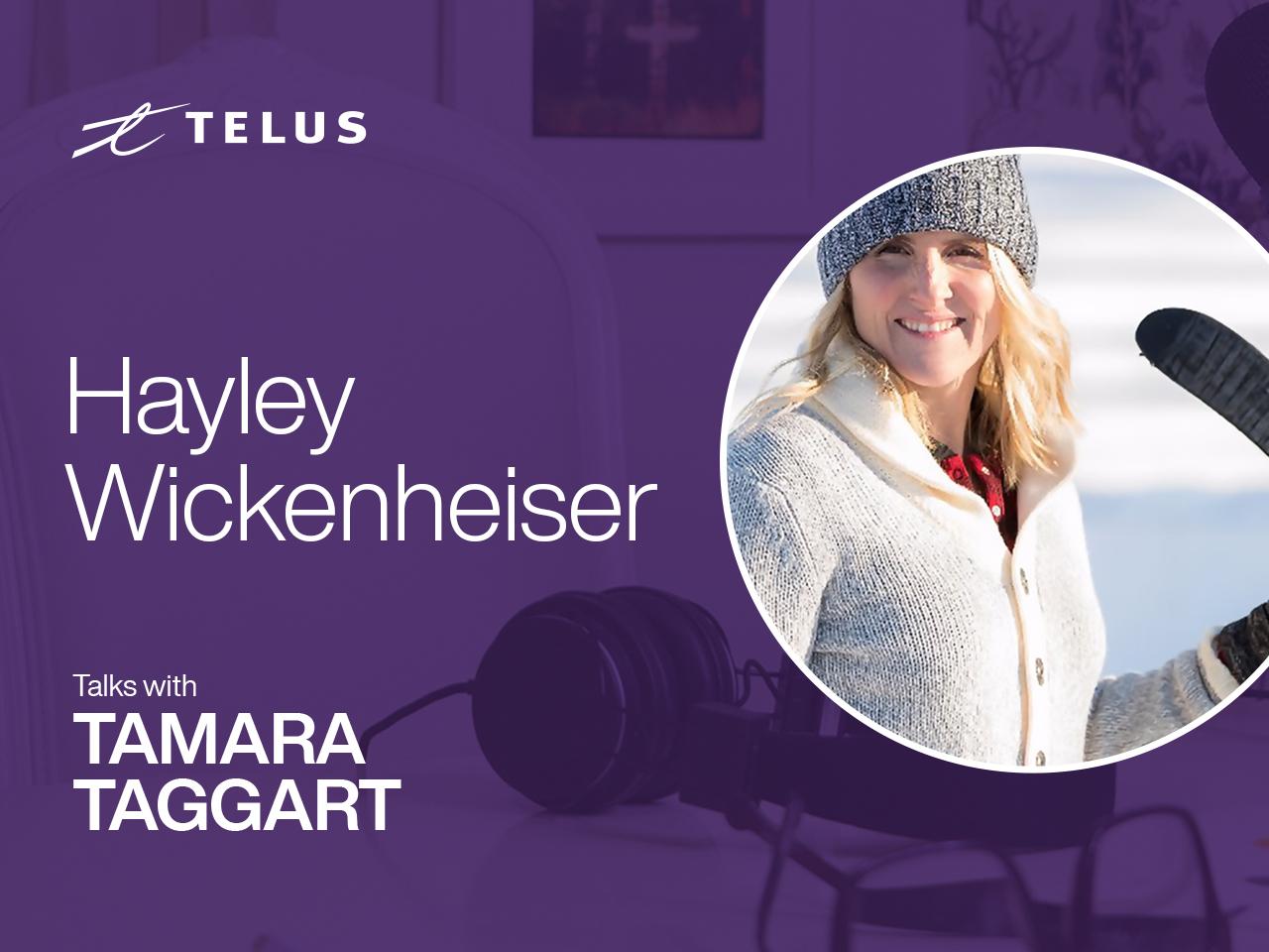 Olympic champion Hayley Wickenheiser