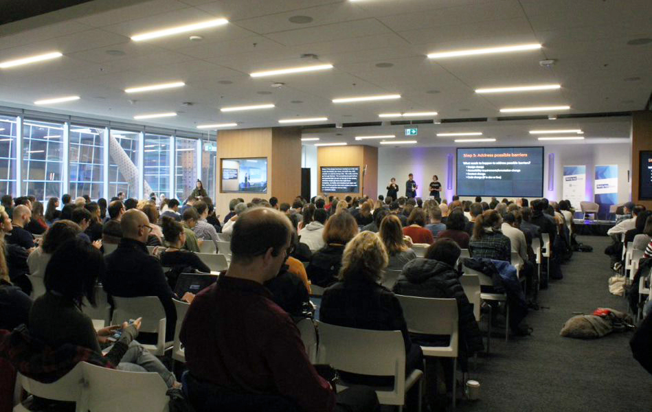 Picture of #a11yTO Conf at TELUS Harbour in Toronto