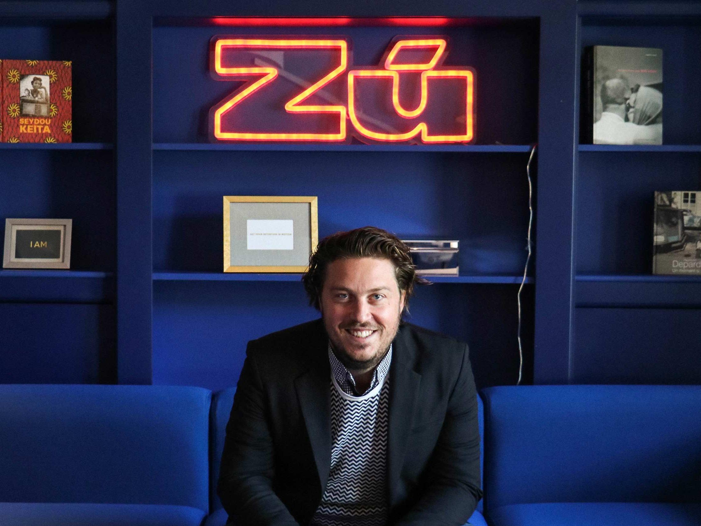Guillaume Thérien, directeur général de Zú
