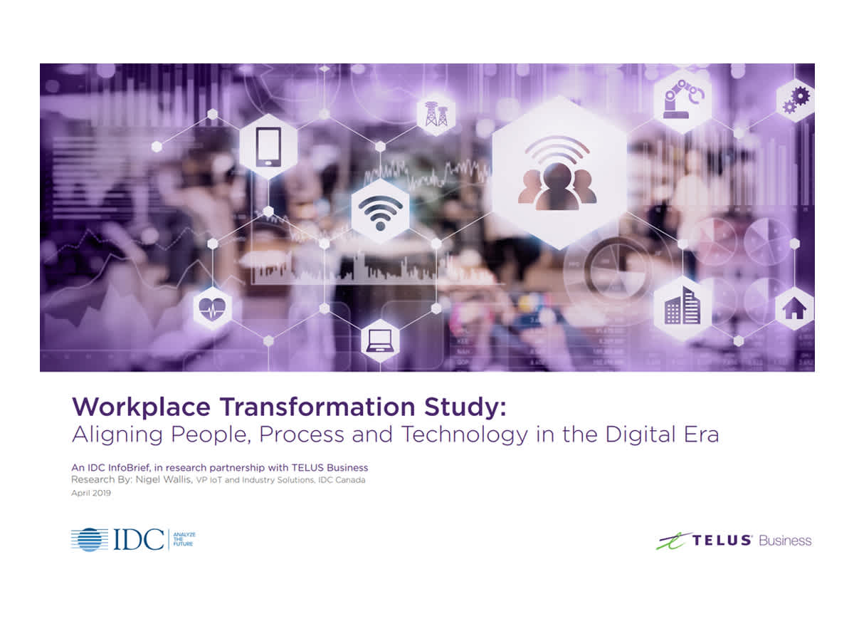 20% of businesses are ready for workplace transformation