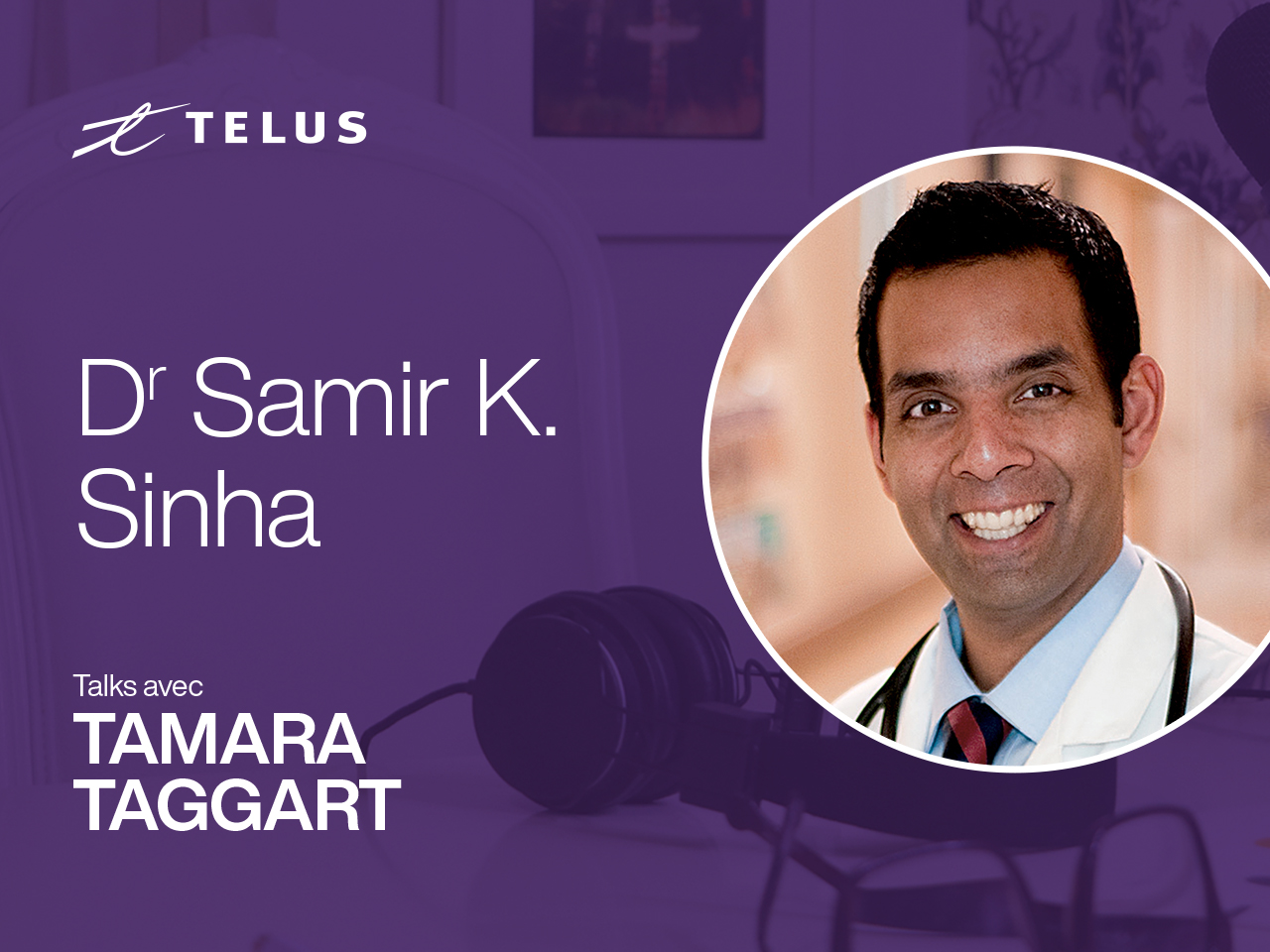 Dr. Samir Sinha, director of geriatrics at Sinai Health in Toronto