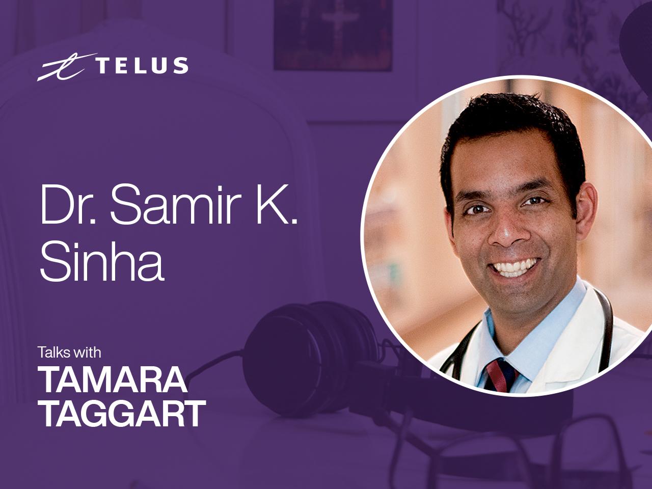 Dr. Samir Sinha, director of geriatrics at Sinai Health in Toronto