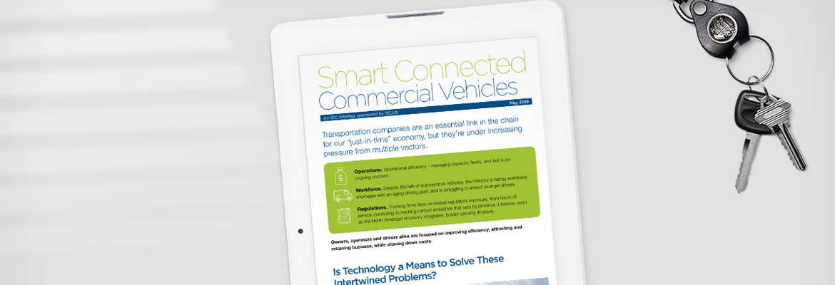 The open road ahead for smart connected commercial vehicles