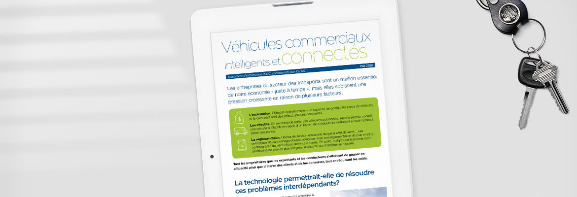 Transport intelligent et connecté : Rapport d'IDC