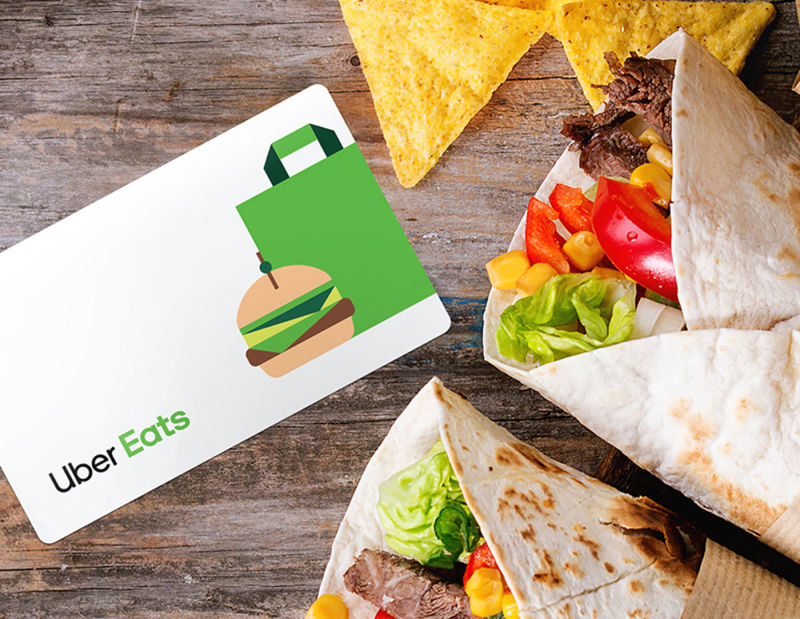 Gift Cards – Uber Eats