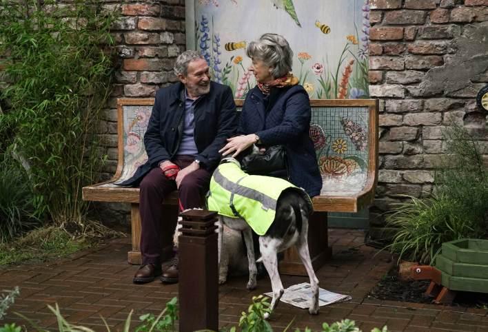 Evelyn and Arthur - Coronation Street - ITV