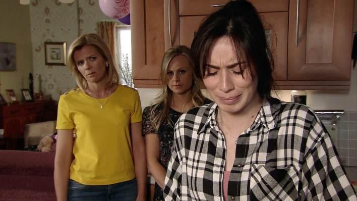 Leanne, Shona and Sarah - Coronation Street - ITV