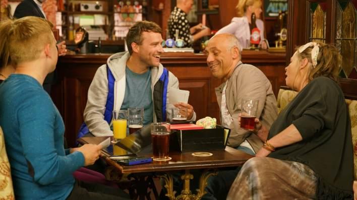Chesney, Paul, Kel and Bernie - Coronation Street - ITV