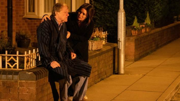 Roy and Carla - Coronation Street - ITV