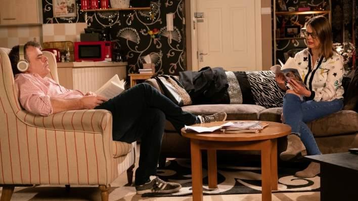 Steve and Tracy - Coronation Street - ITV