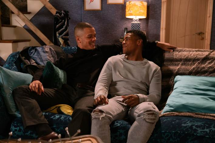 James and Danny at the Baileys - Coronation Street - ITV