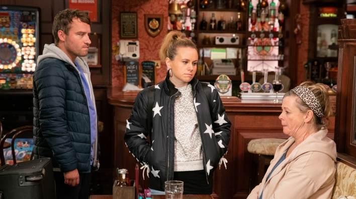 Paul, Gemma and Bernie - Coronation Street - ITV