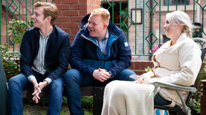 Daniel, Craig and Sinead - Coronation Street - ITV
