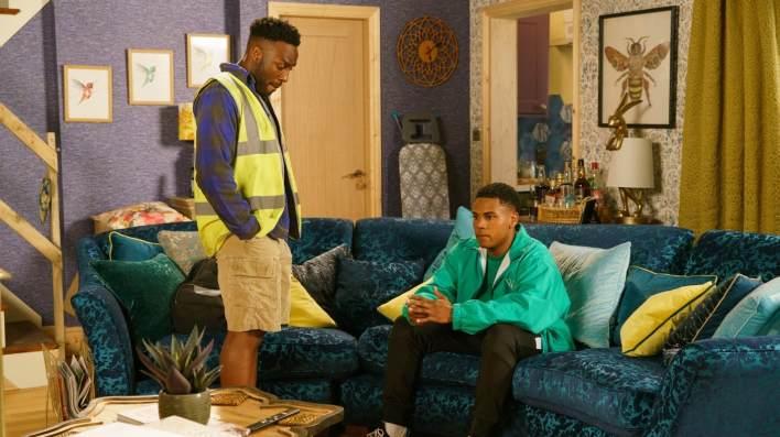 Michael and James - Coronation Street - ITV