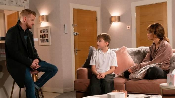 Gary, Maria and Liam - Coronation Street - ITV