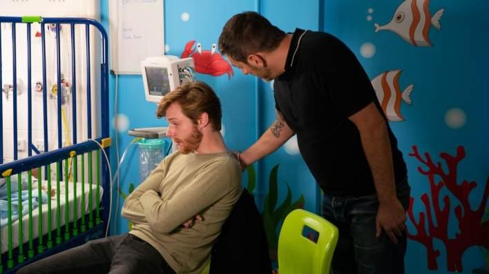 Daniel and Peter - Coronation Street - ITV