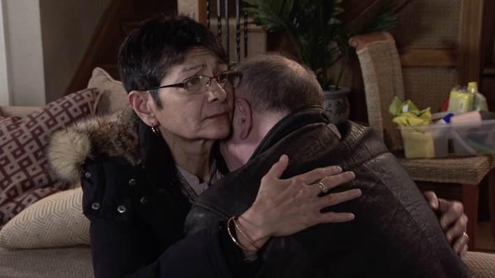 Yasmeen and Geoff - Coronation Street - ITV