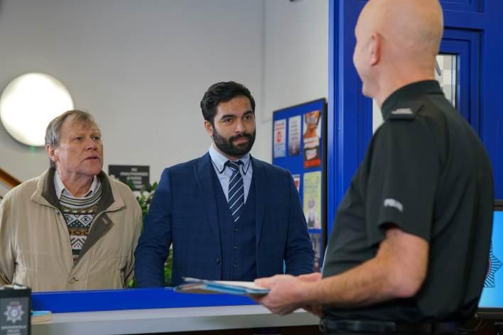 Roy and Imran - Coronation Street - ITV