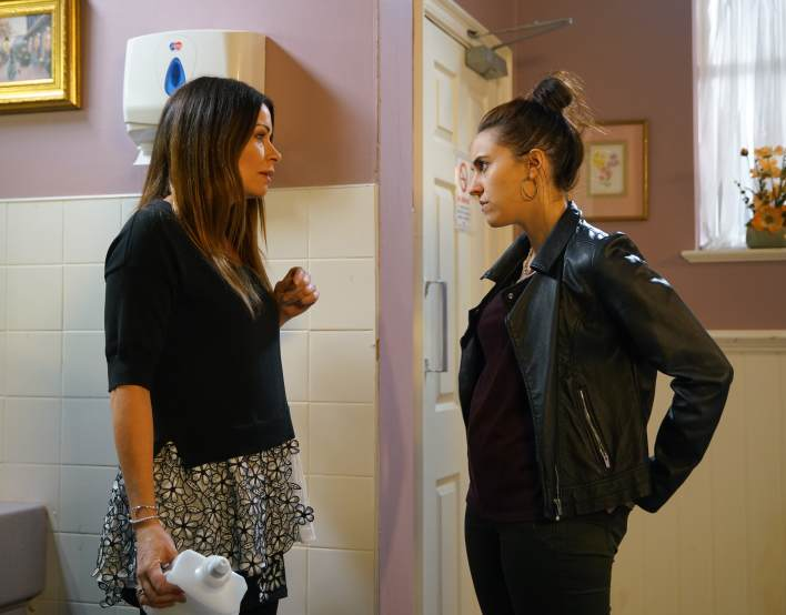 Carla and Chelsey -Coronation Street - ITV