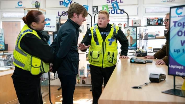 Daniel and Craig - Coronation Street - ITV