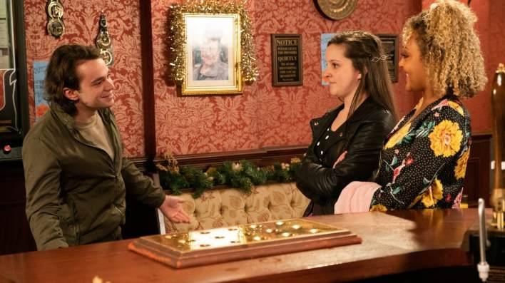 Seb, Amy and Emma - Coronation Street - ITV
