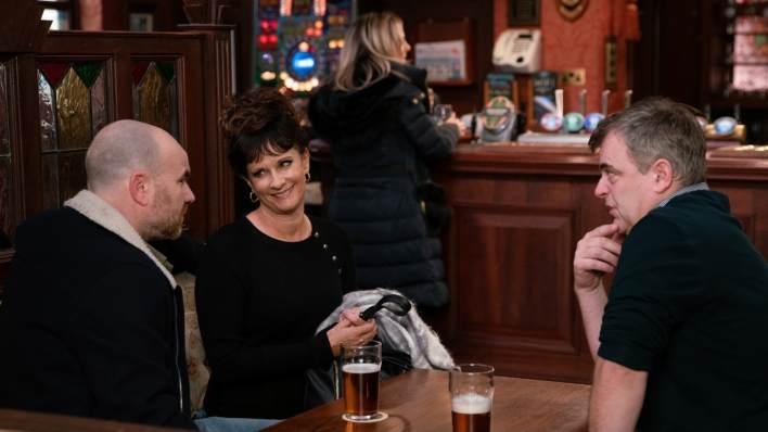 Tim, Charlie and Steve - Coronation Street - ITV