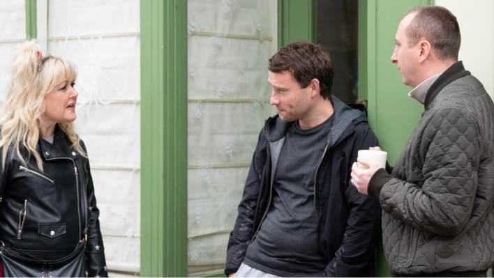 Beth, Paul and Kirk - Coronation Street - ITV