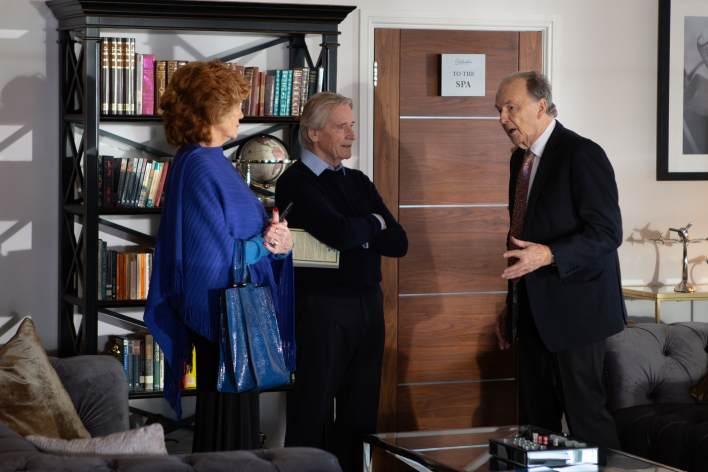 Ken, Claudia and Charles - Coronation Street - ITV