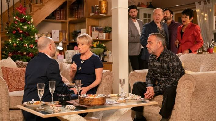 Tim, Sally, Kevin, Geoff and Yasmeen - Coronation Street - ITV