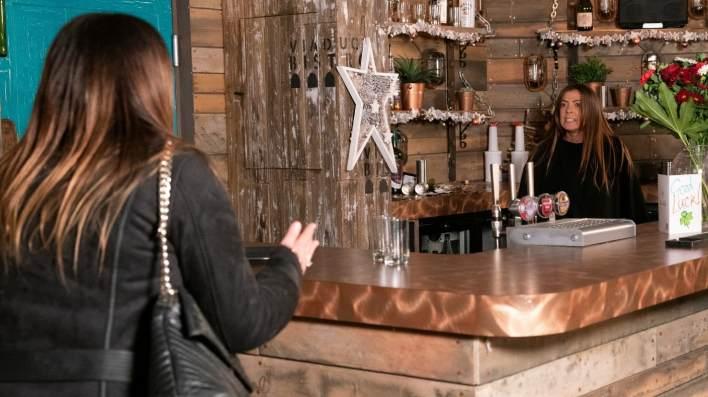Carla and Michelle - Coronation Street - ITV